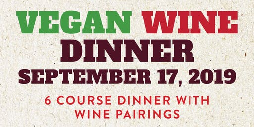 Vegan Wine Dinner