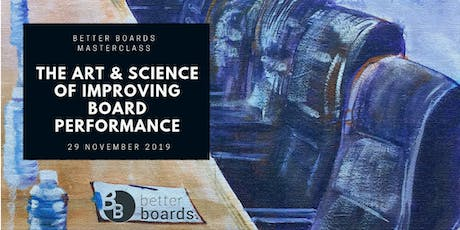 Masterclass: Creating More Effective Boards tickets