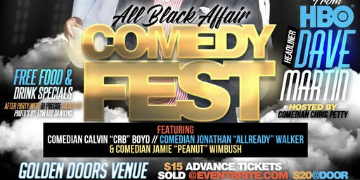 ALL BLACK AFFAIR COMEDY FEST