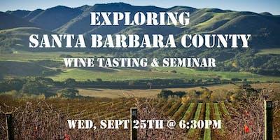 Tasting Table Event: Exploring Santa Barbara County (Tasting & Seminar)