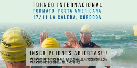 Torneo Itinerante de Natación INTERNACIONAL -Sexta Edición entradas