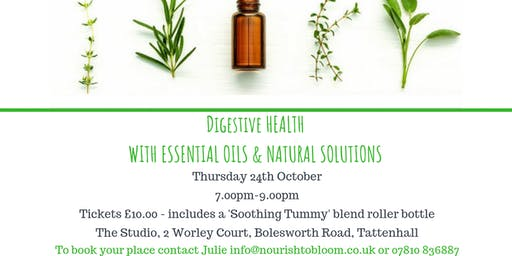 Digestive Health with Essential Oils & Natural Solutions