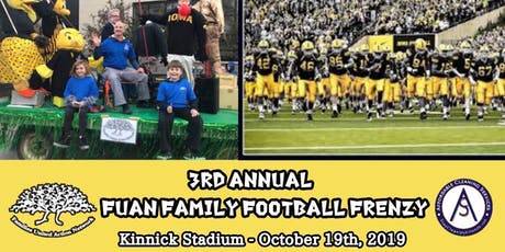 "3rd Annual ""FUAN Family Football Frenzy.""-Children tickets"