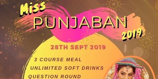 Miss Punjaban Berkshire 2019 -