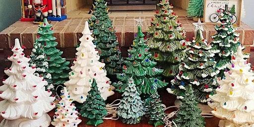 Paint Yer Ceramic Christmas Tree