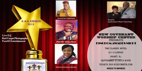 NCWC KINGDOM AWARDS NIGHT 2019 tickets