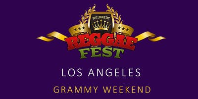 Reggae Fest LA Grammy Weekend at Belasco Theater Los Angeles