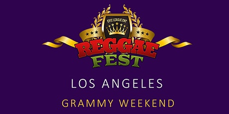 Reggae Fest LA Grammy Weekend at Belasco Theater Los Angeles  tickets