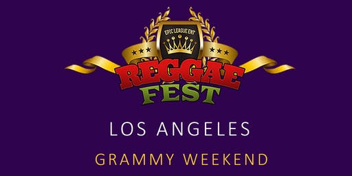 Reggae Fest LA Grammy Weekend at Belasco Theater Los Angeles