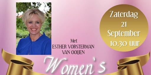 Women's Glory Conference met Esther Vorsterman van Ooijen