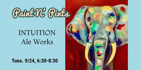 Paint N' Pints at Intuition Ale Works tickets