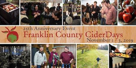 Franklin County CiderDays, Nov 1 - 3, 2019 tickets
