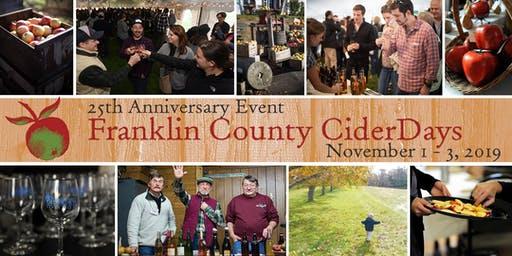 Franklin County CiderDays, Nov 1 - 3, 2019