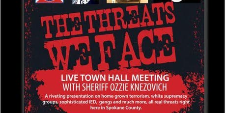The Threats We Face with Sheriff Ozzie Knezovich tickets