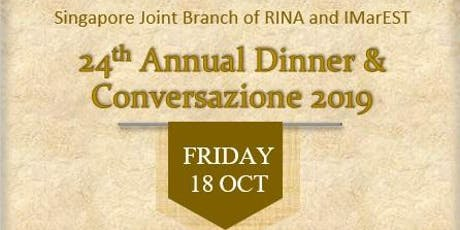 24th Annual Dinner & Conversazione tickets