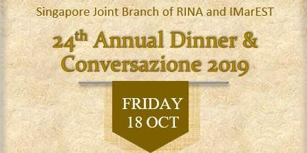 24th Annual Dinner & Conversazione