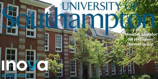 Sesión en línea: Southampton Business School y Business Excellence Scholarships