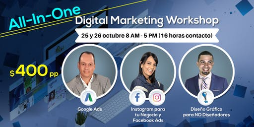 All-In-One Digital Marketing Workshop