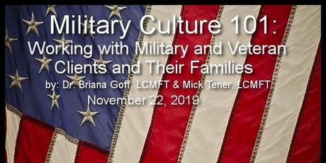 Military Culture 101 tickets