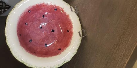Paint a Ceramic Watermelon Bowl tickets