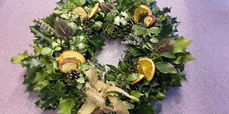 Traditional Christmas Wreath Making Workshop tickets