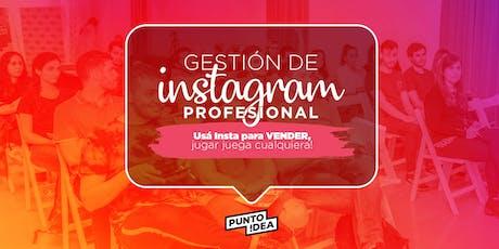 Gestión de Instagram profesional entradas