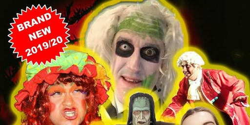 A Halloween circus - A creepy pantomime
