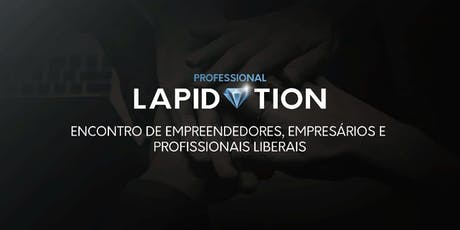 PROFESSIONAL LAPIDATION - OUTUBRO/19 ingressos
