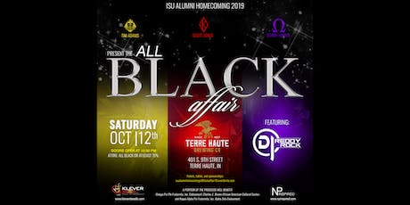 ISU ALUMNI HOMECOMING 2019:  THE ALL BLACK AFFAIR  hosted by Tim Adams, Scott Jones and Donny Mimms tickets