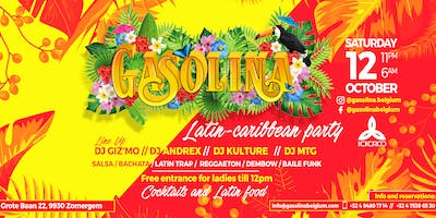 "GASOLINA ""Latin-caribbean party"" FIRST EDITION x Kokorico 12/10"