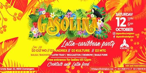 "GASOLINA ""Latin-caribbean party"" FIRST EDITION x Kokorico 12/10"