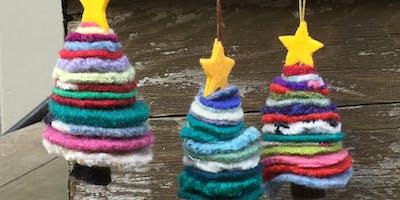 Make an Upcycled Christmas Trees