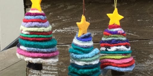 Make an Upcycled Christmas Trees