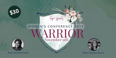 Hope Speaks Women's Conference 2019 - Warrior