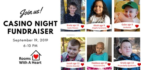 2019 Casino Night Fundraiser tickets