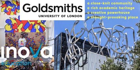 Estudia en Goldsmiths, Universidad de Londres (también en línea) boletos