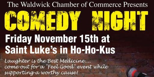 Comedy Night - Hosted by: Waldwick Chamber of Commerce