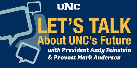 You can make change – Let's Talk (with President Andy and Provost Mark) on Sept. 17 tickets