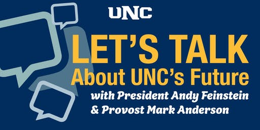 You can make change – Let's Talk (with President Andy and Provost Mark) on Sept. 17
