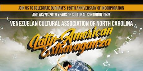 Latin-American Extravaganza tickets