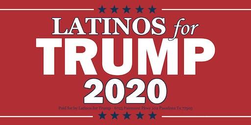 Latinos for Trump Meet up in San Antonio TX