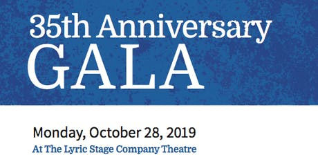 35th Anniversary Gala tickets