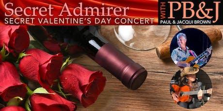 Sandy Shore's  Jazz Weekender :  Secret Admirer Valentine's Day Concert tickets