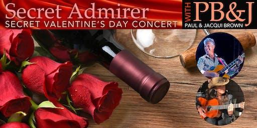 Sandy Shore's  Jazz Weekender :  Secret Admirer Valentine's Day Concert