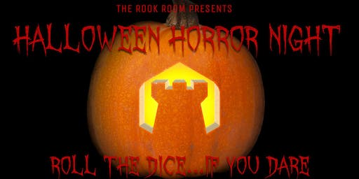 The Rook Room Presents Halloween Horror Night Game Night
