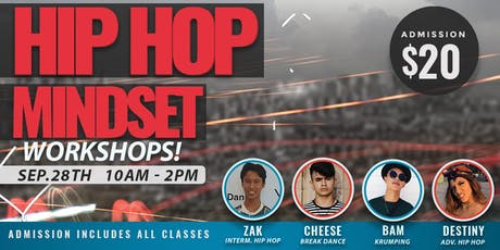 Hip Hop Mindset Workshops tickets