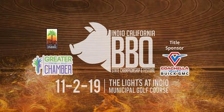 Indio California BBQ State Championship tickets