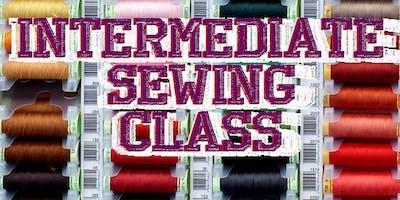 Intermediate Sewing 4 part Class
