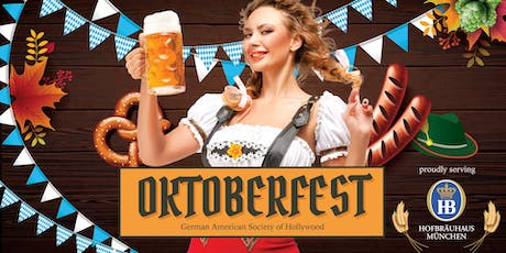 Oktoberfest at the German American Society of Hollywood tickets