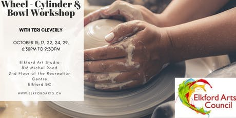 Wheel - Cylinder & Bowl Workshop with Teri Cleverly tickets